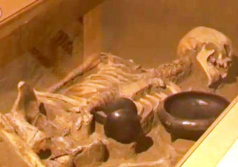 Archív felvétel a Szóra bírt csontok című kiállításról (2014), amelynek székelyudvarhelyi bemutatásakor használták a helyi leleteket,bemutatva az ArchoeTEK szakembereivel közösen végzett kutatások eredményeit is