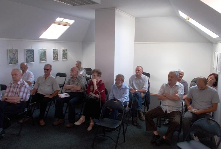 Olvasók és kollégák a találkozón