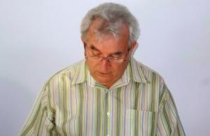 Lőrincz György a készülő regényből olvasott fel két rövid részletet