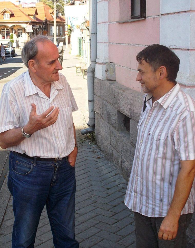 Czegő Zoltán és P. Buzogány Árpád (Simó Márton felvétele)