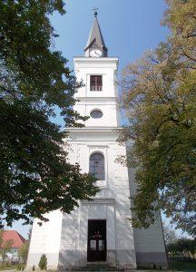 Itt keresztelték és írták be az egyházközség anyakönyvébe annak idején az újszülöttet Tamás János néven