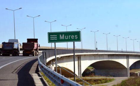 Maros-híd az A1-en, Arad közelében - Fotó: Picasa