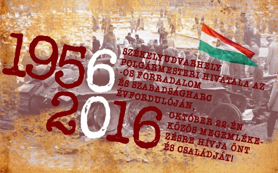 A székelyudvarhelyi központi rendezvény plakátja