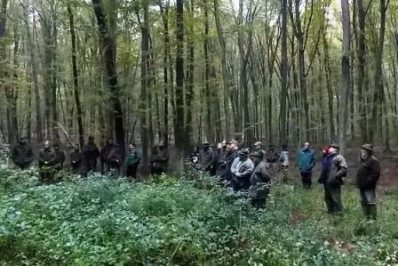 Terepbejárás Zalában (Foto: erdo-mezo.hu)