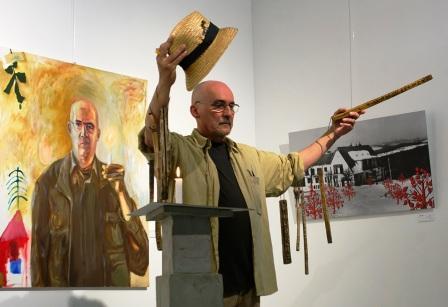 A Pulzus 5 éve című kiállítás az Erdélyi Művészeti Központban