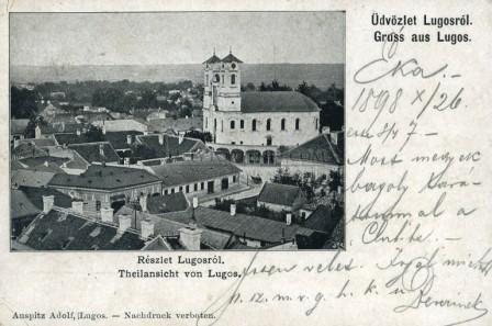 lugos-1899-regi-kepeslap-2-1kr-bermentesitessel-0