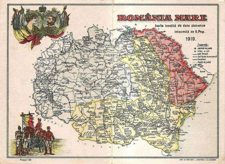 Harta-Romaniei-Mari